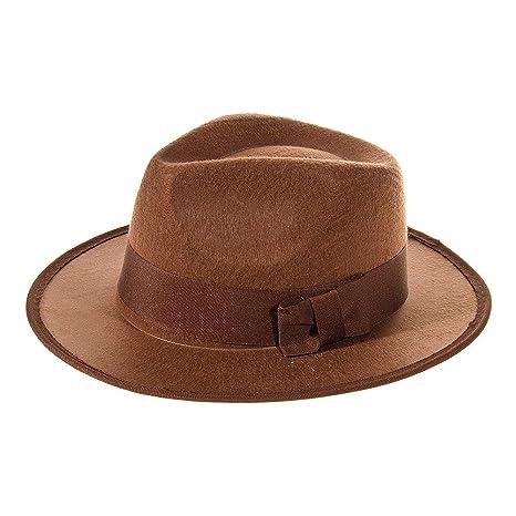 fb8b340c4f83c Sombrero de Explorador Para Disfraz (Marrón)  Amazon.es  Juguetes y ...