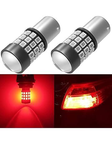 Alla Lighting BAY15D 7528 1157 LED Strobe Brake Lights Bulbs Super Bright 2357 2057 1157 Flashing