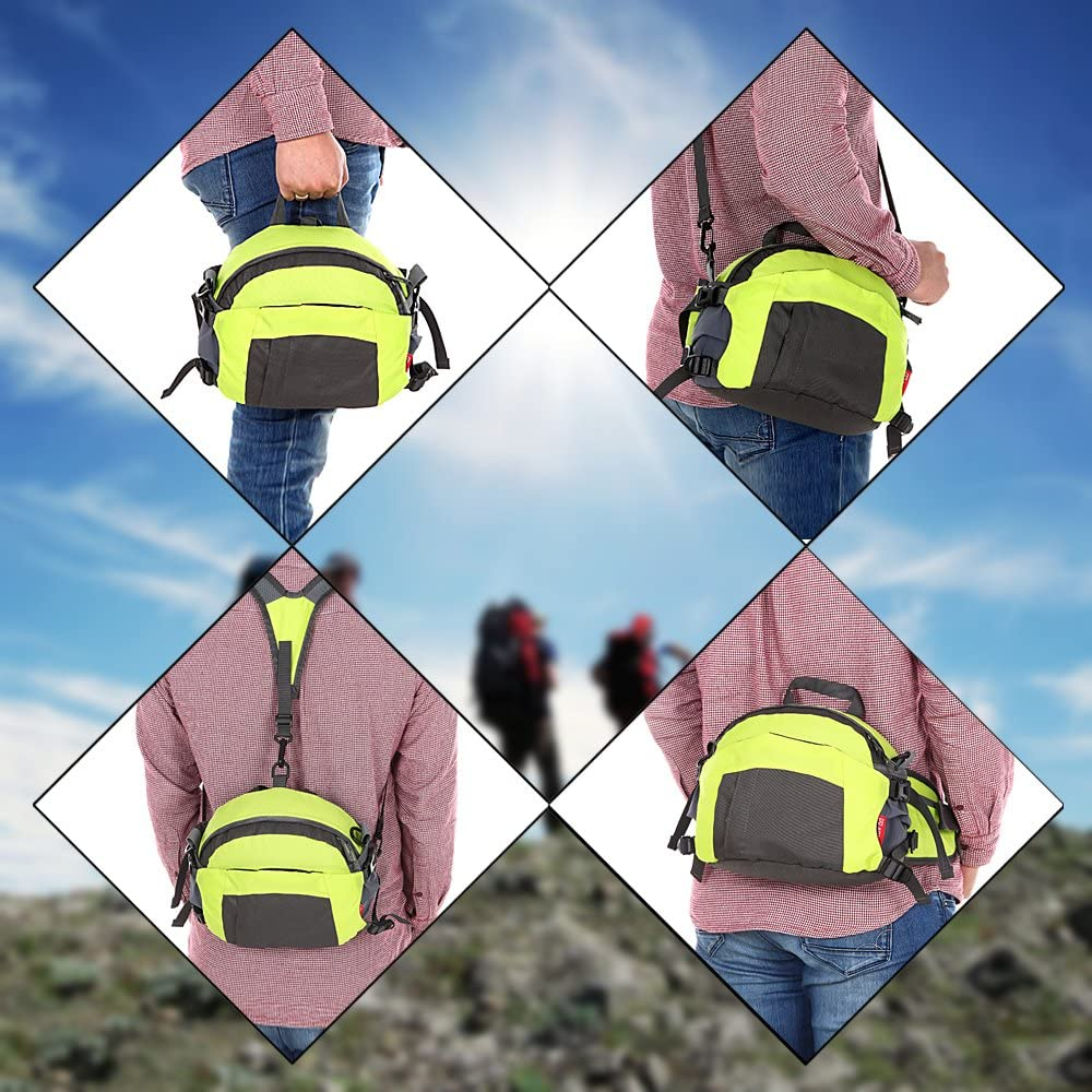 ebuyfrmart TOMOUNT Sac Sacoche Banane Bandouli/ère /étanche Multifonctions Sport Voyage Camping