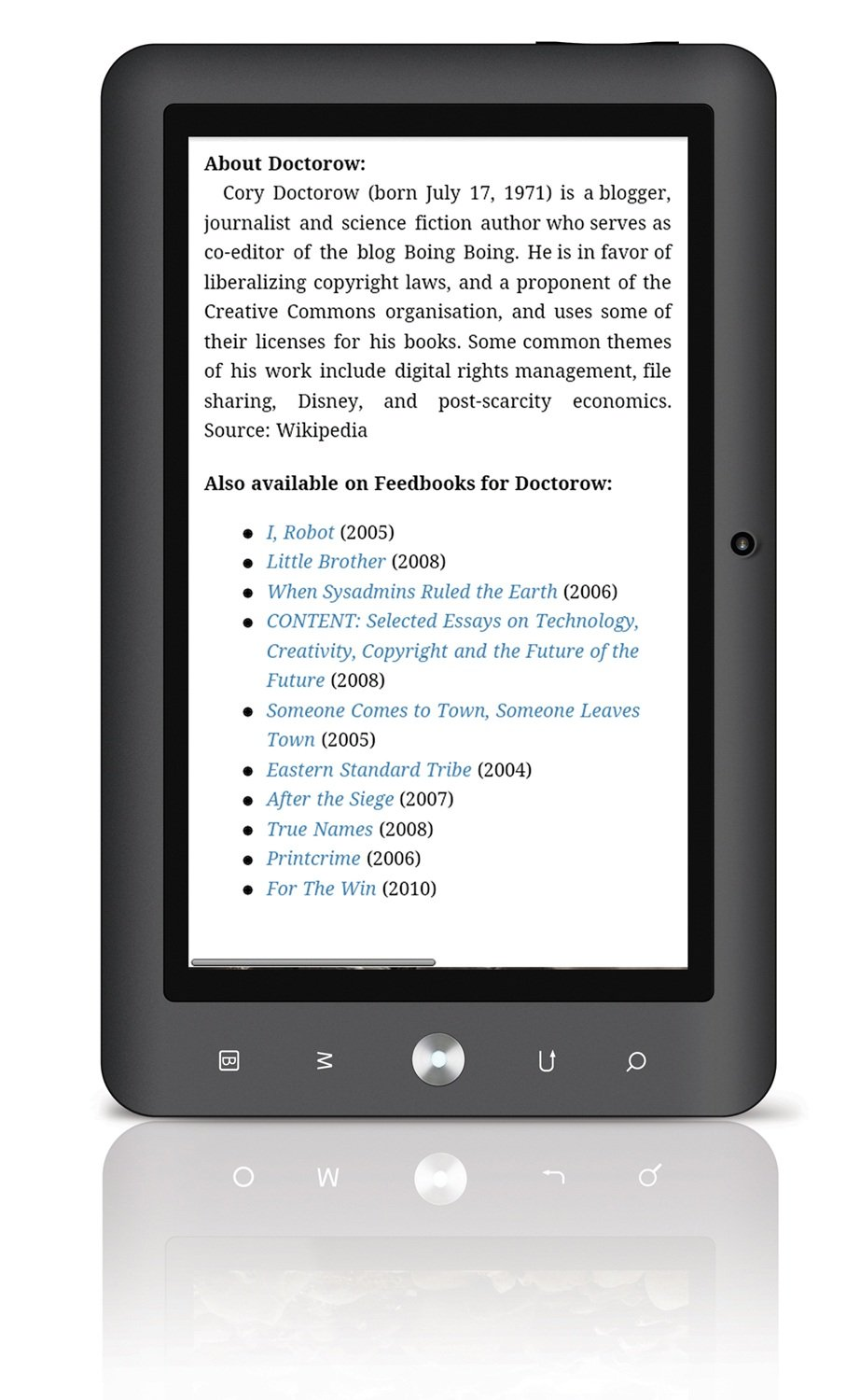 Amazon : Coby Kyros 4 Gb 7inch Tablet With Touchscreen And Android  22, Mid70244g (black) : Tabletputers :puters & Accessories
