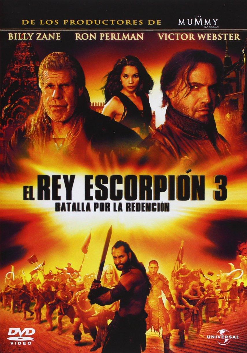 El Rey Escorpion 3 [DVD]: Amazon.es: Webster, Victor, Zane ...