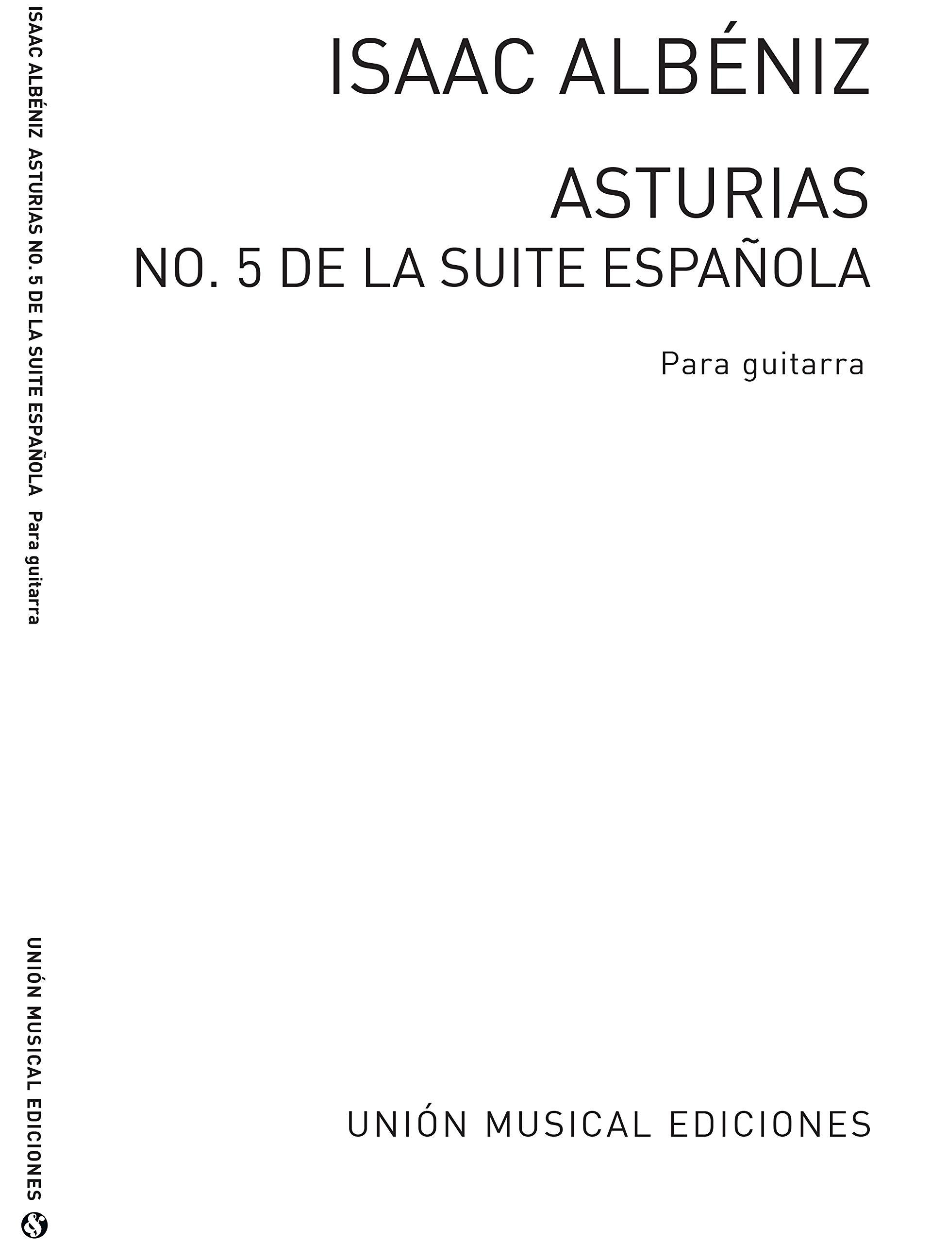 Albeniz: Asturias Leyanda No.5 from Suite Espanola Op.47 Romero ...