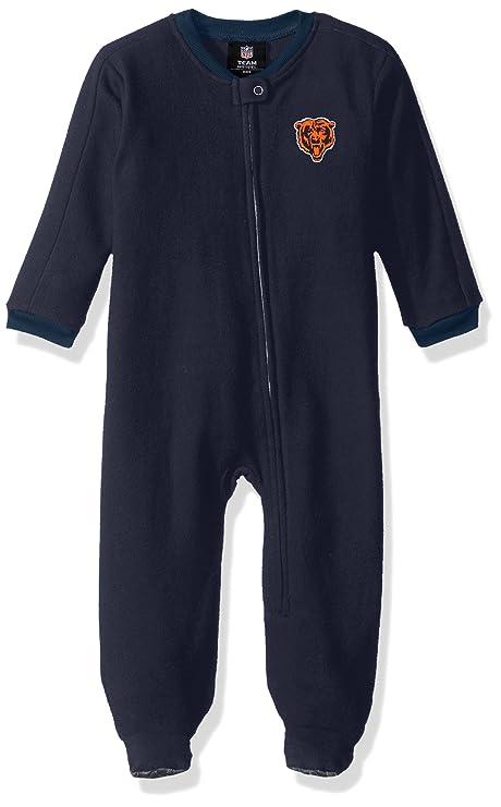 c8416e635 Outerstuff NFL Infant Color Block Blanket Sleeper-Deep Obsidian -18 Months