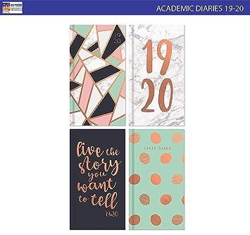 2019-2020 - Agenda escolar (tamaño A6, vista semanal ...