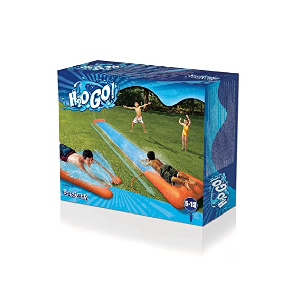 Bestway-52198 Pista Deslizante Agua 52198000: Amazon.es: Juguetes y juegos
