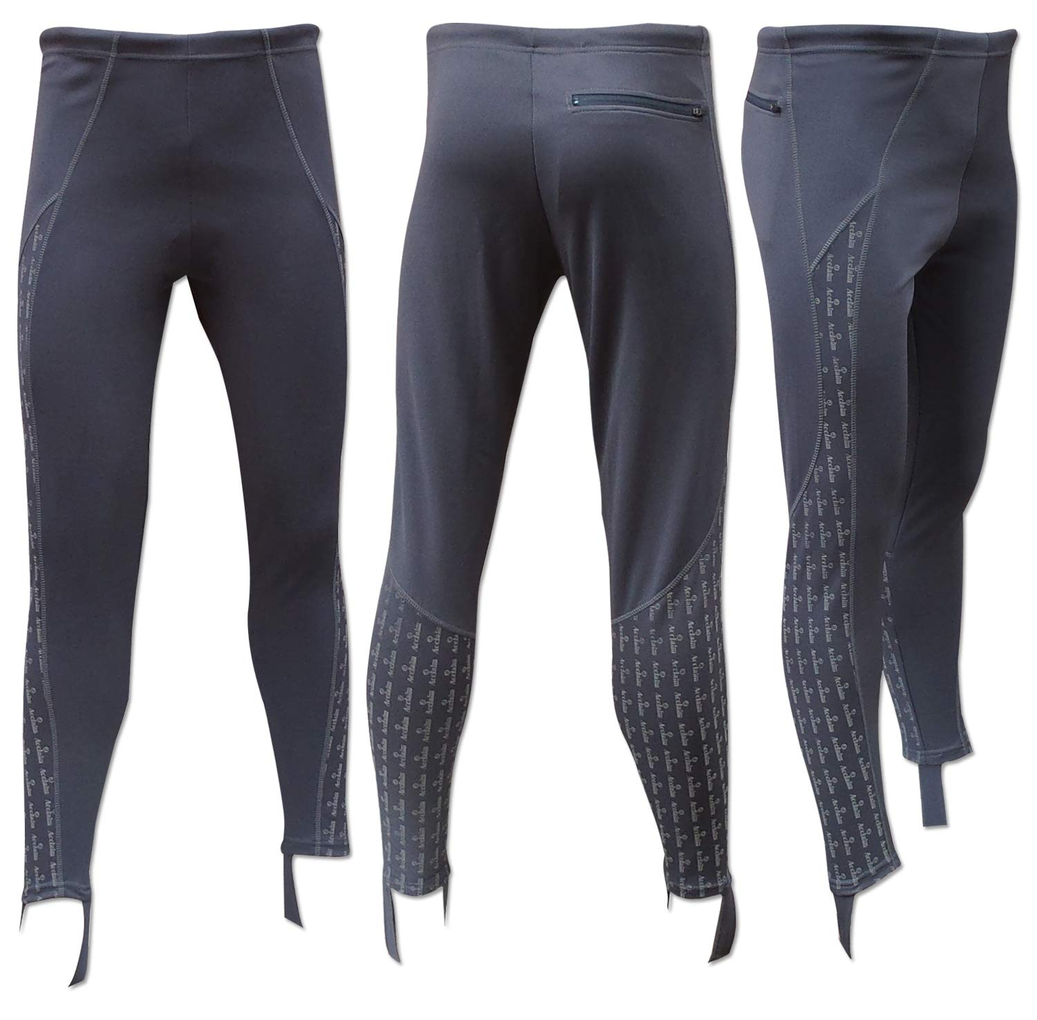 ACCLAIM Fitness Mens Black Cycle Style Lycra Short Running Fitness Training