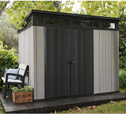 Cobertizo de jardín para almacenamiento al aire libre para ...