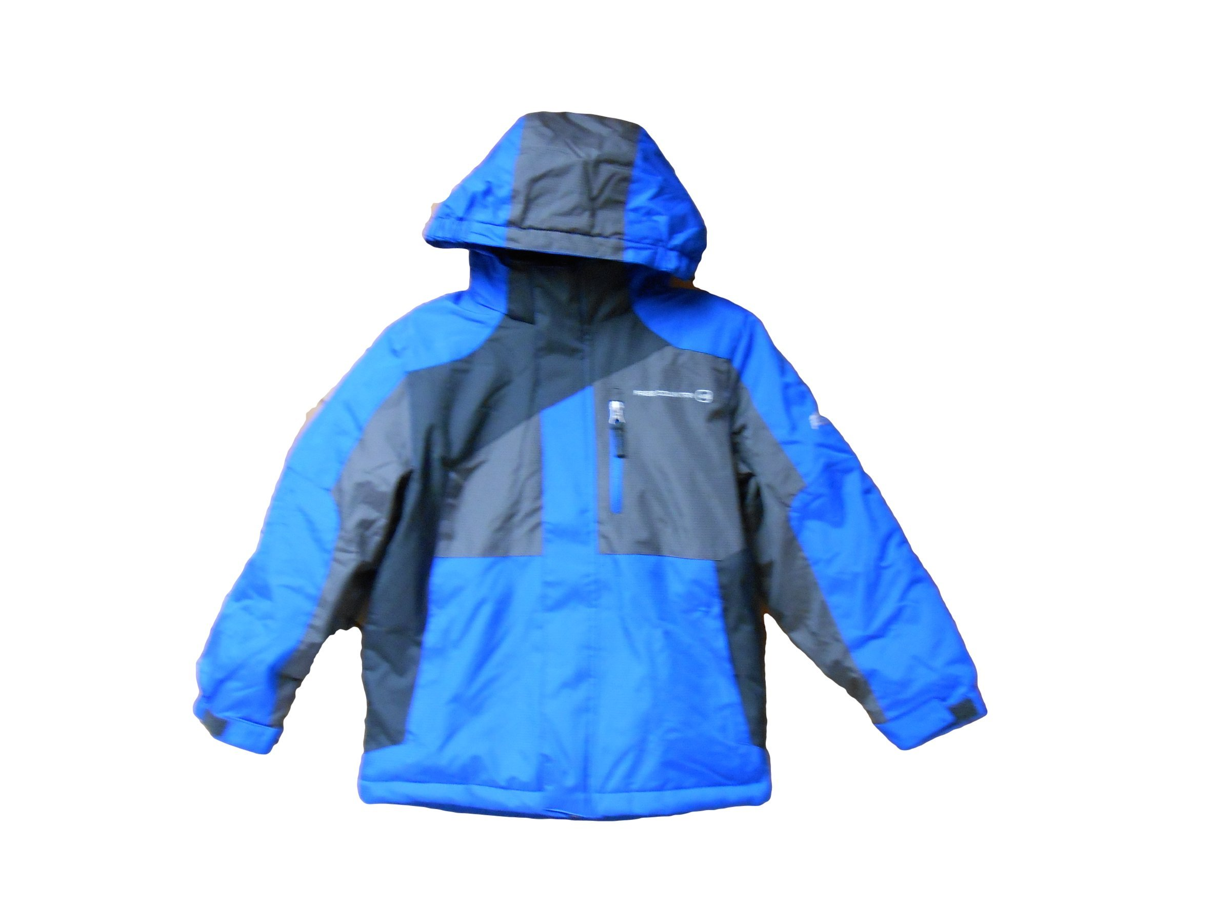 Free Country Fcxtreme Boy's Jackets Small 7/8 Really Royal/grey by Free Country