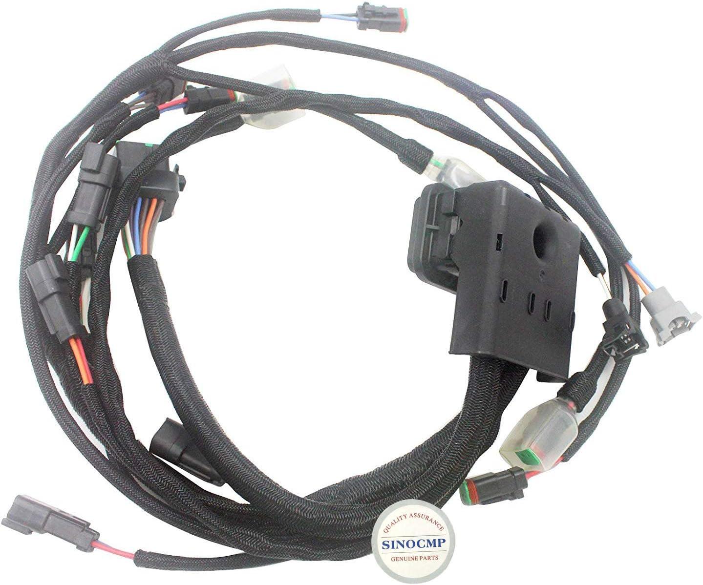 Sharplace Nuevo Cuerda de Manija de Arrancador Motor Cortadora de C/ésped Ajustable para Stihl 038 039 041 044 046 051