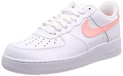 quality design 8d9ee 3ff4e Nike Damen Air Force 1 07 Patent Sneaker Weiß Oracle Pink-White 102,