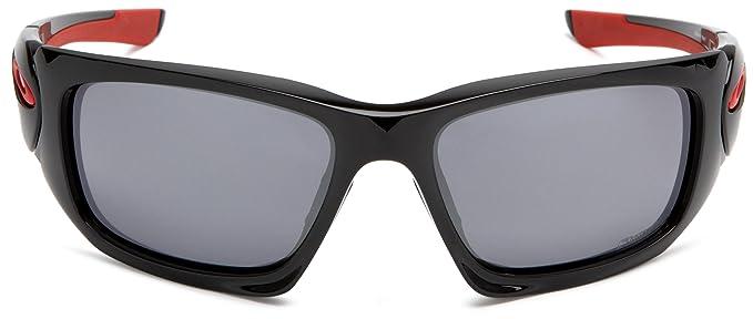adb1bd5543088f Oakley Ducati Scalpel - Lunettes de soleil homme - Polished Black   Black  Iridium  Amazon.fr  Chaussures et Sacs