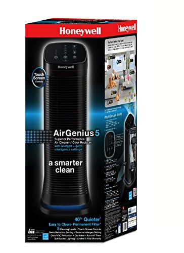 Honeywell AirGenius 5 Air Cleaner/Odor Reducer 250 sq. ft.