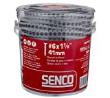"Senco 06A162P Duraspin# 6 by 1-5/8"" Drywall to Wood Collated Screw"