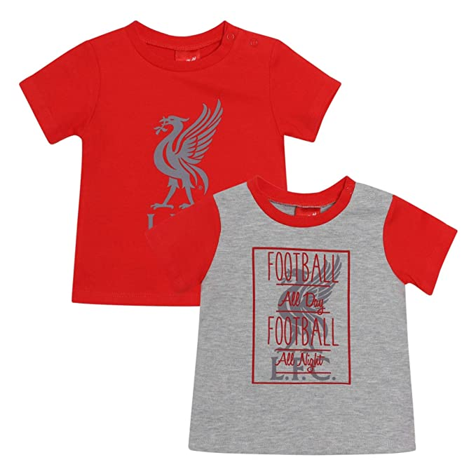 b25bcc798ee Image Unavailable. Image not available for. Color  Liverpool FC Red Baby  Soccer 2 Pack Jerseys AW 18 19 LFC Official