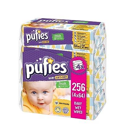 Pufies Baby Art Dry - Frescas toallitas