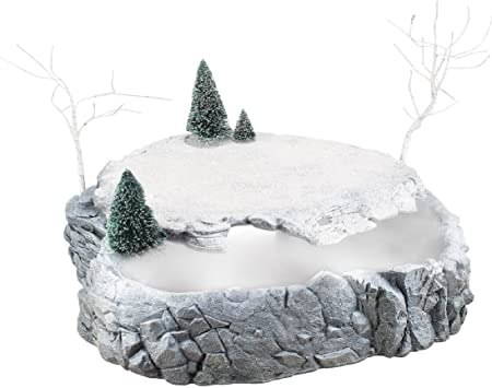 Department 56 Accessories for Villages Misty Point Platform Animated Accessory Figurine 16.5