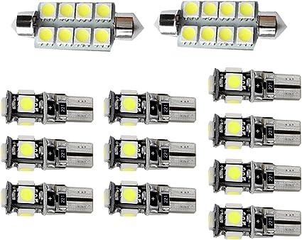 1 ampoule à LED blanc  éclairage feux de plaque pour BMW  X1 X3 X4 X5 X6