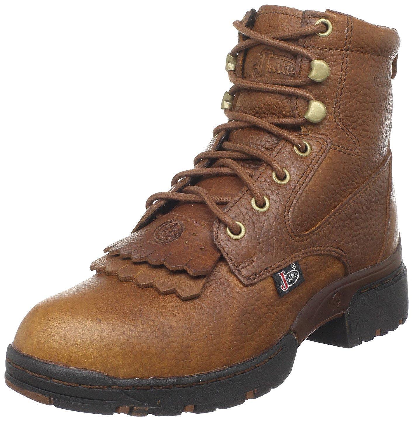 beb5975f0f0 Amazon.com | Justin Boots Women's George Strait 3.1-l0919-w | Ankle ...