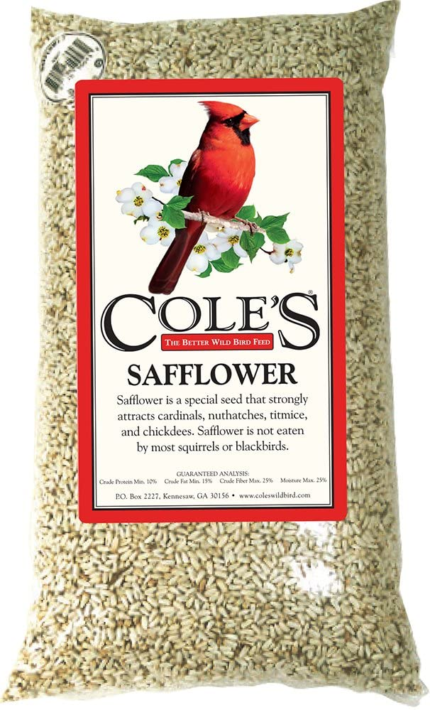 Cole's SA10 Safflower Bird Seed, 10-Pound