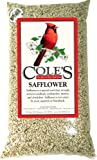 Coles Wild Bird Prod Cole's SA10 Safflower Birdseed, 10-Pound