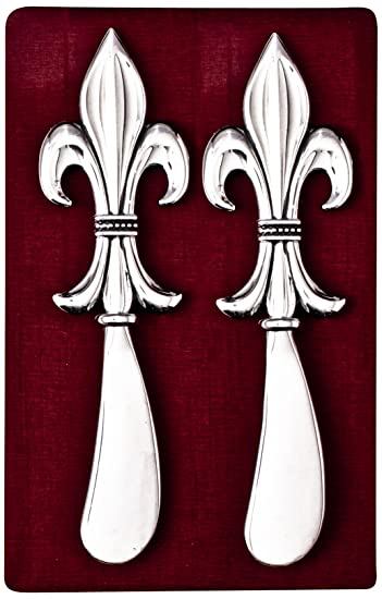 Amazoncom Thirstystone N173 Cheese Spreaders Fleur De Lis Cheese