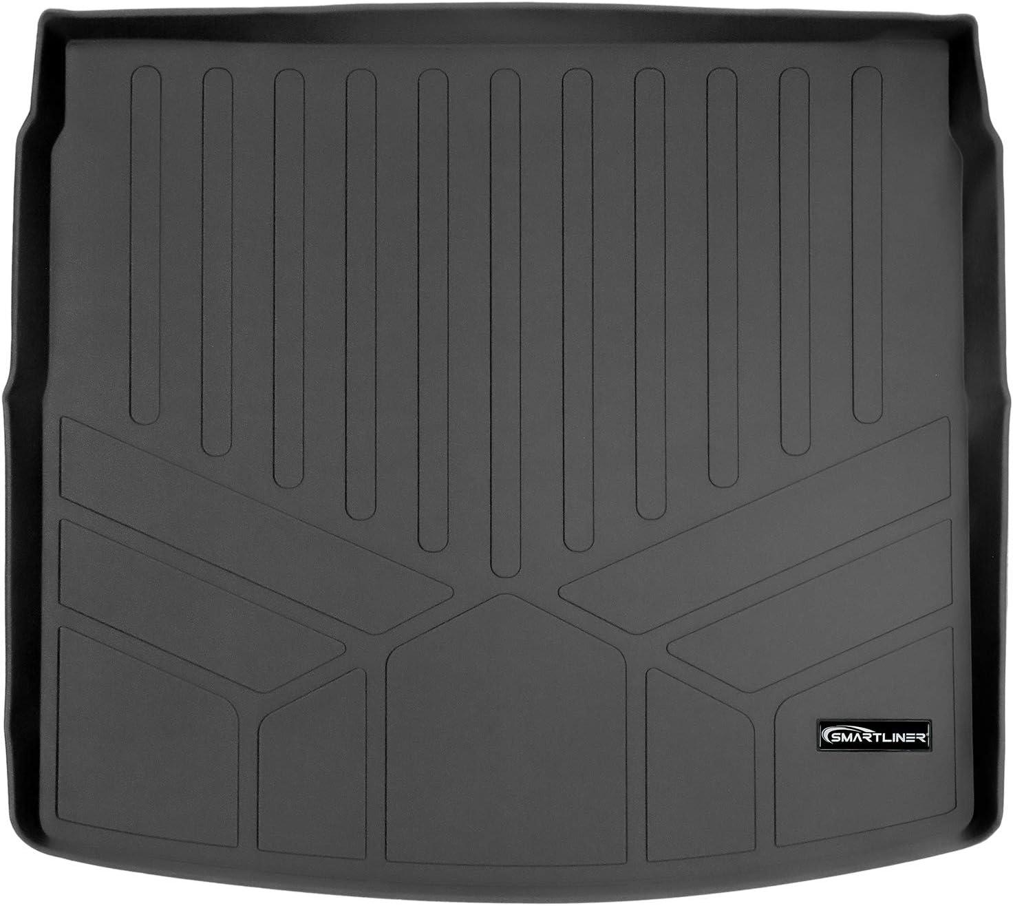 MAXLINER Cargo Trunk Liner Floor Mat Black for 2017-2019 Honda CR-V Liner fits Factory Cargo Deck in Upper Position