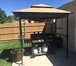 Amazon Brylanehome Grilling Gazebo Taupe Canopy Patio