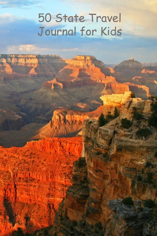 50 State Travel Journal for Kids: Grand Canyon pdf epub