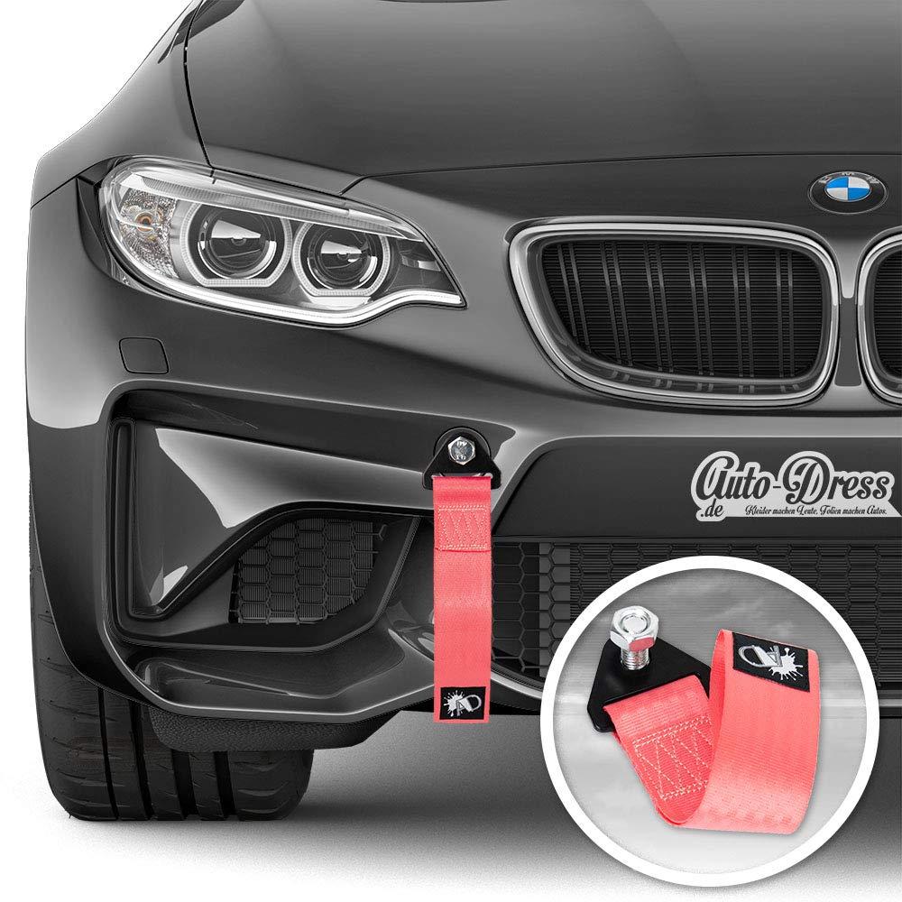 Rennsport//Motorsport Abschlepptau Tau Abschleppschlaufe Schlaufe in verschiedenen Farben! Auto-Dress Rallye Drift Schlaufe Lila Racing Hook Tow Strap