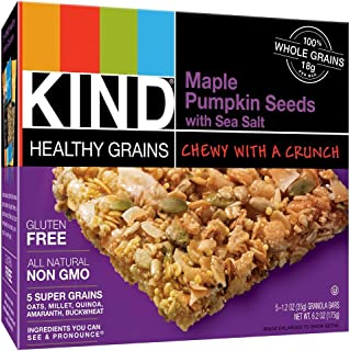 product image for Kind Maple Pumpkin Seed Bar with Sea Salt, 5 Count (Pack of 2)total 10