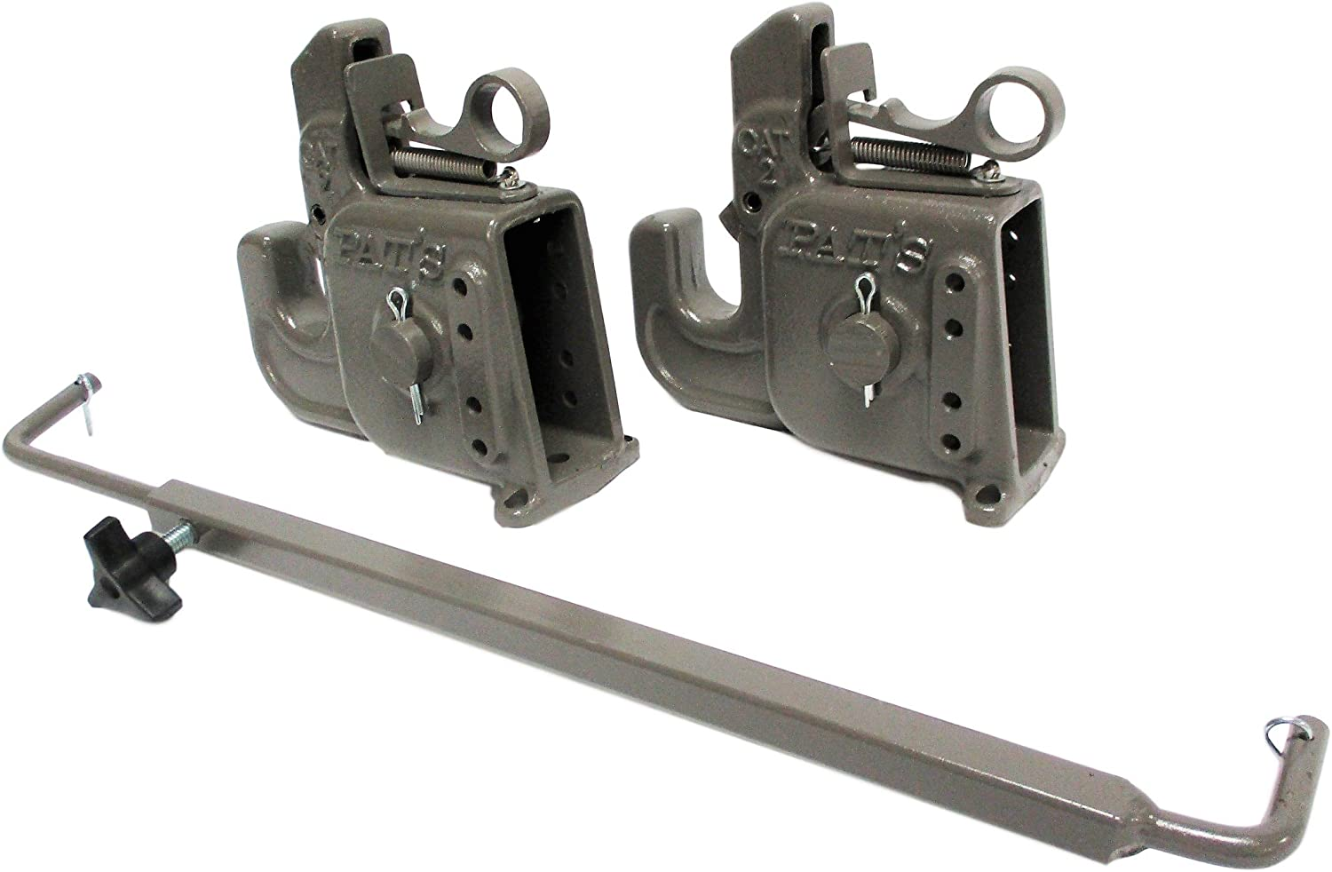 Best Quick Hitch System On The Market Durable and Affordable Blue CAT #1 Pats Easy Change with Stabilizer Bar Flexible