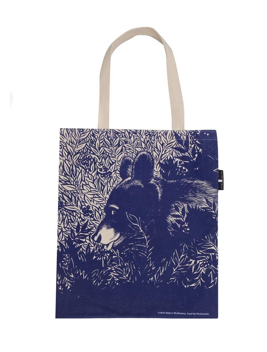 Out of Print Blueberries for Sal Tote Bag, 15 X 17 Inches by Out of Print (Image #2)