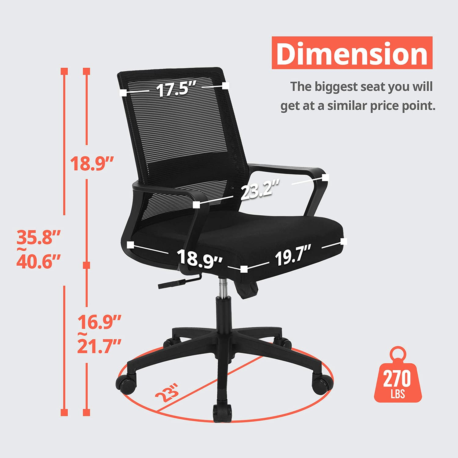 71GSEIOFiaL. AC SL1500 - What is The Best Computer Chair For Long Hours Sitting? [Comfortable and Ergonomic] - ChairPicks