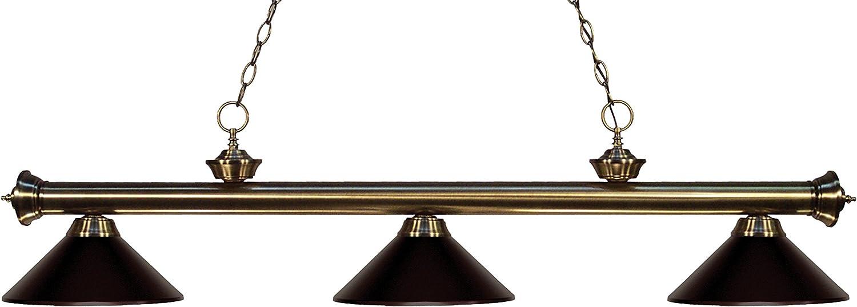 Z-Lite Riviera 200-MBRZ Billiard//Island Light