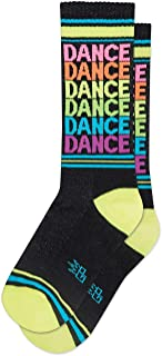 product image for DANCE Socks by Gumball Poodle, Ribbed Gym Socks Unisex Statement Gym Crew Socks