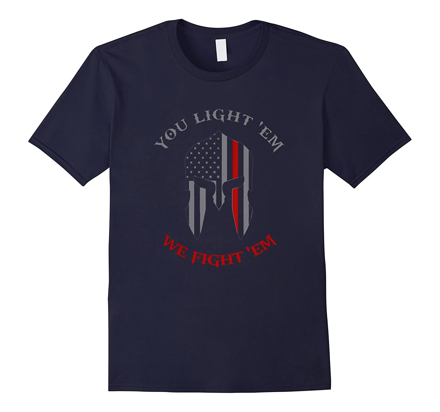 Thin Red Line Spartan Shirt-RT