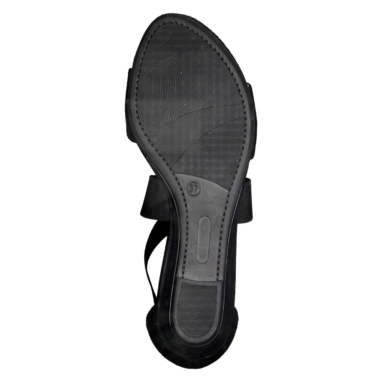 Tamaris Sommerschuhe 1-1-28188-20 Damen Sandale, Sandalette, Sommerschuhe Tamaris für die modebewusste Frau schwarz f26013