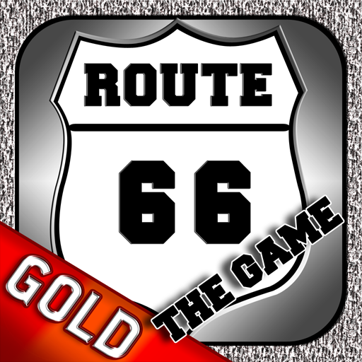 Route 66 : The Motorcycle Story Gold - Route 66 Highway Motorcycle Americas