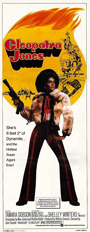Amazon Com Cleopatra Jones Poster Movie 14 X 36 Inches 36cm X 92cm 1973 Insert Style A Posters Prints