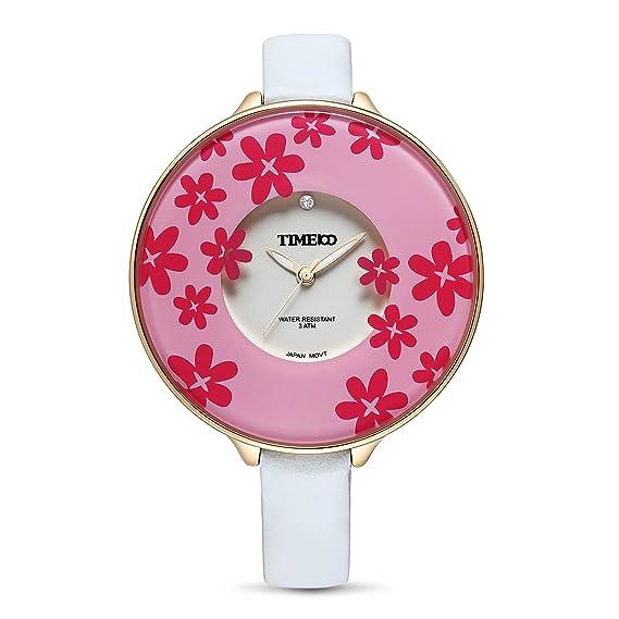 8faa20dd8a47 Time W50039L.02A - Reloj de Bolsillo Color Blanco  Amazon.es  Relojes