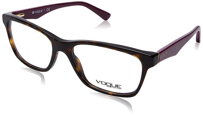 Vogue VO2787 Eyeglass Frames 2406-53 - Dark Havana at Amazon Men\'s ...