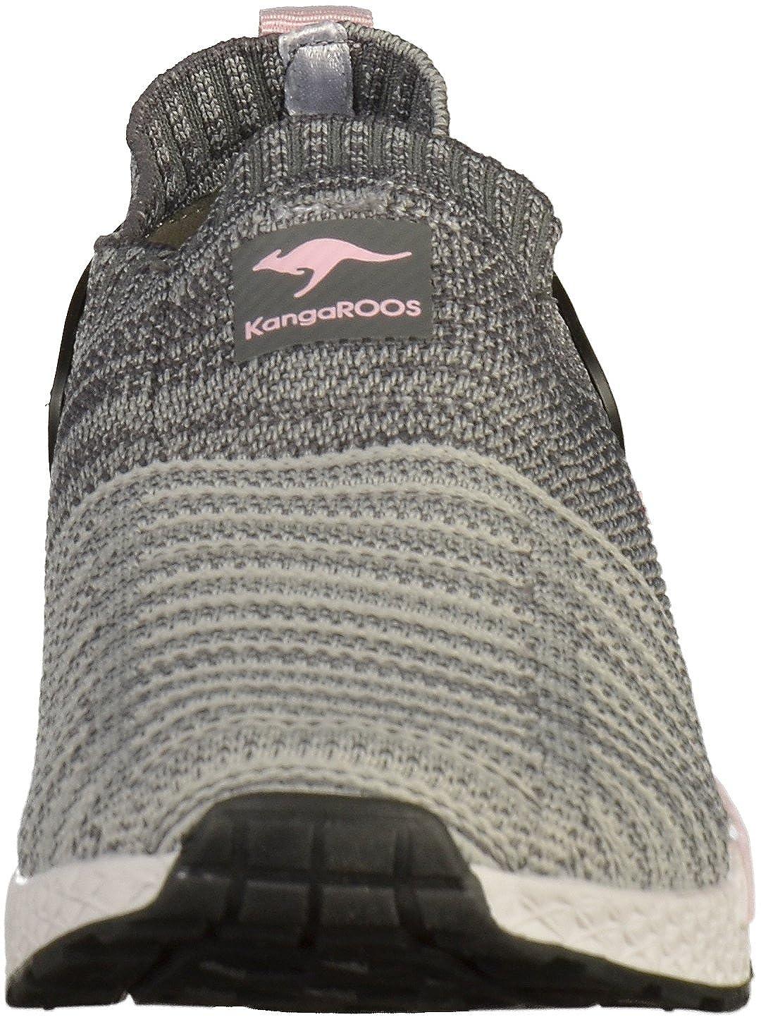 KangaROOS Unisex-Erwachsene Grau/English W-600 Sneaker Grau (Vapor Grau/English Unisex-Erwachsene Rose) a9194e