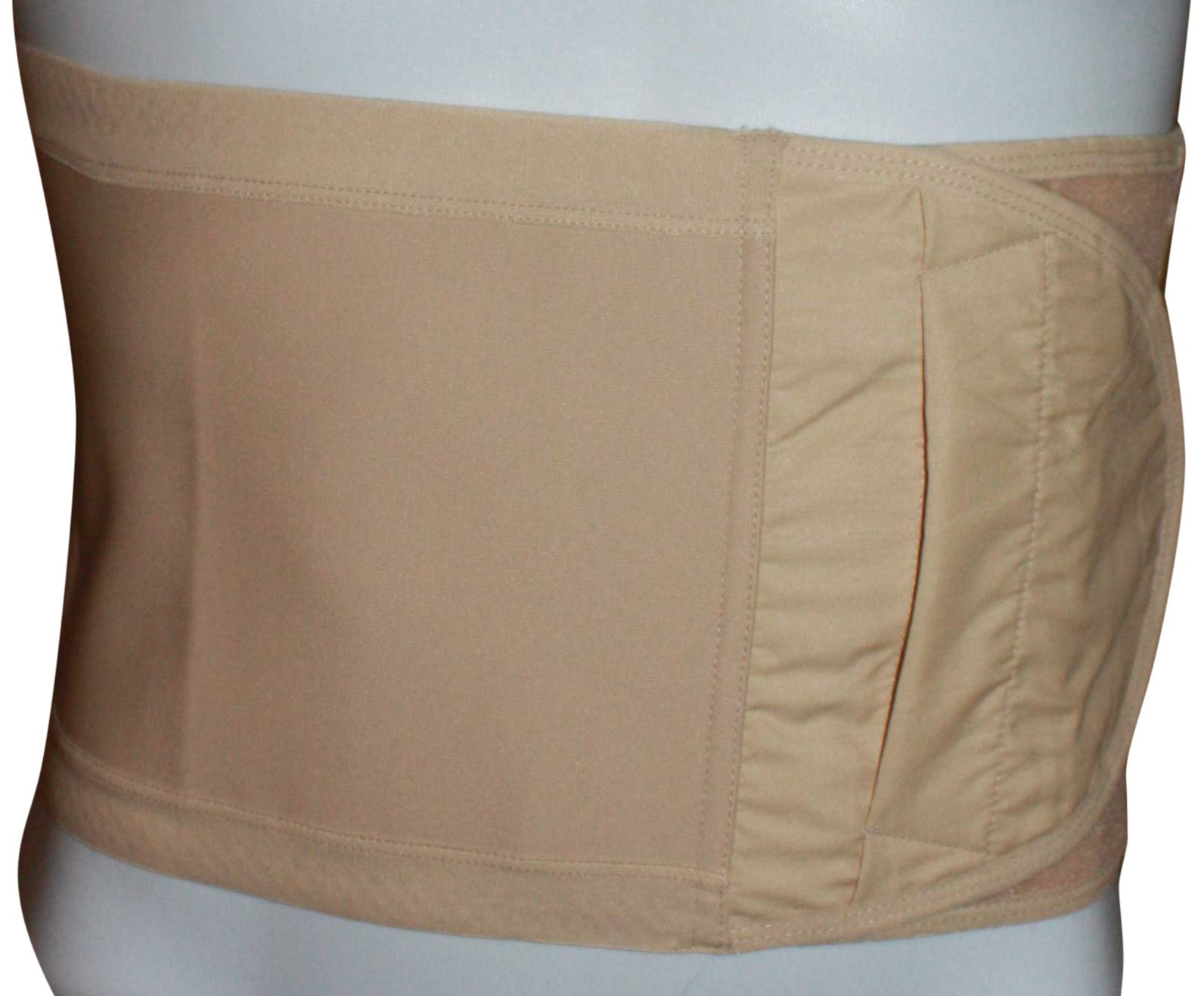Safe n' Simple Hernia Support Belt, 20cm, Beige, Small