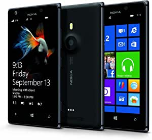 Nokia Lumia 925 RM-893 (AT&T) GSM 4G LTE Windows 8 Smartphone - Black/Dark Grey NO Contract