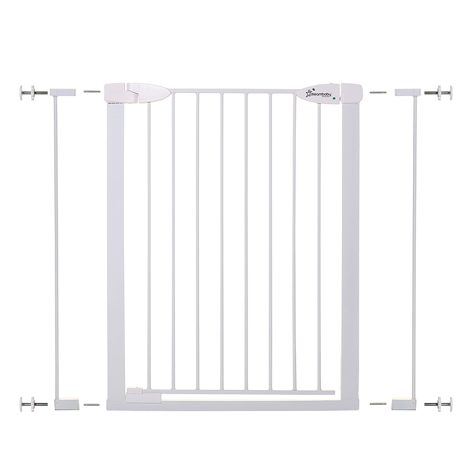 Dreambaby Boston Tall Auto Close Gate with Ezy Check Indicator White