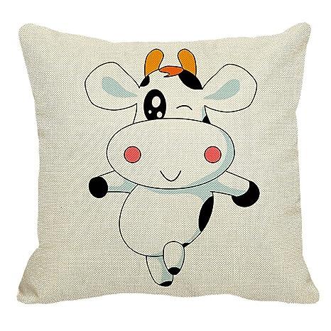 Sukisuki Funda de cojín de dibujos animados para sofá o ...