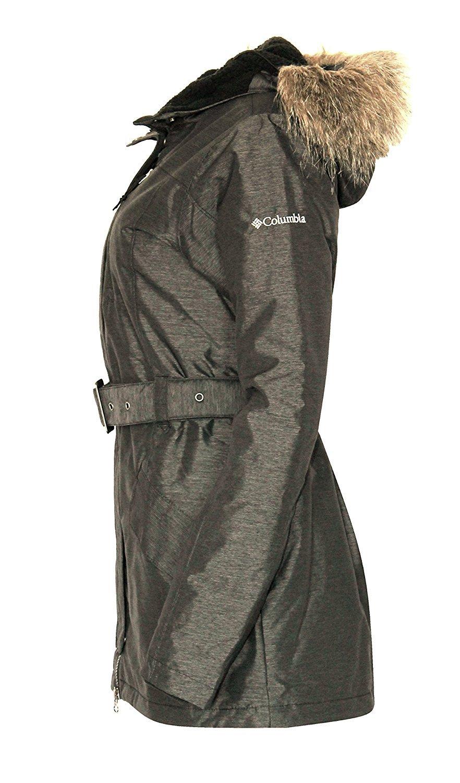 Columbia BEVERLY MOUNTAIN II Women's Winter OMNI HEAT SKI Jacket $200  XS Grey by Columbia (Image #2)