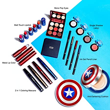 Amazon.com : The Face Shop 2 in 1 Curing Mascara_Marvel Collaboration (#01 Black Widow) : Beauty