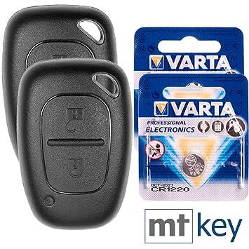 Carcasa Protector Mando 2 botónes VAUXHALL VIVARO MOVANO RENAULT Traffic MASTER