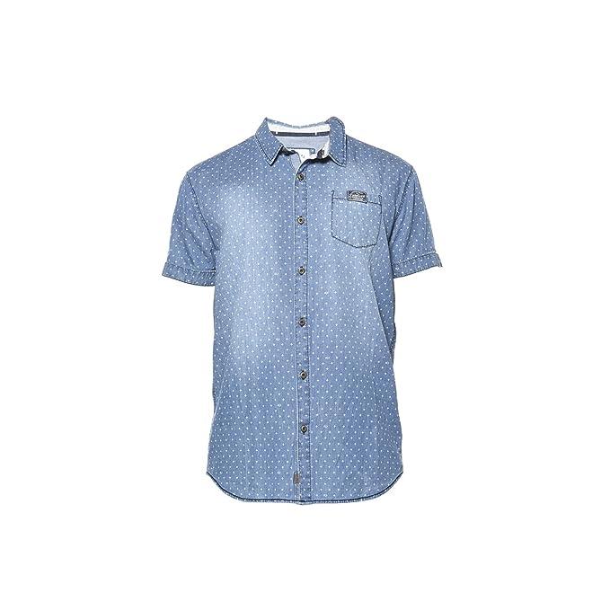 7fe703b2288 DeeLuxe Camisa - Urbano - Para Niño Azul Oscuro S  Amazon.es  Ropa y  accesorios
